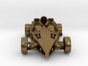 Ariel Atom brass pendant, HO scale LHD w/o wings in Natural Bronze