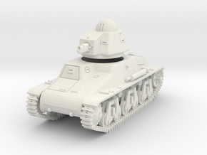 PV43A Hotchkiss H35 Light Tank (28mm) in White Natural Versatile Plastic