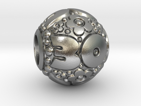 'Pandora' fit Charm 30th in Natural Silver