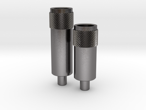 Nozzles LH Gauntlet ROTJ in Polished Nickel Steel