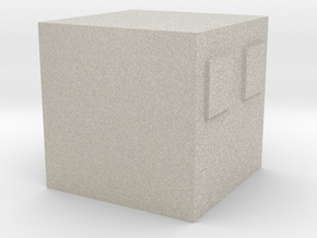 Minecraft Magmacube Medium in Natural Sandstone
