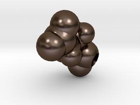 E is Glutamic Acid in Polished Bronze Steel