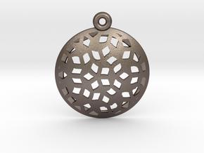 Pattern pendant in Stainless Steel