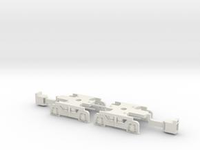 U-Bahn Wien Ersatzdrehgestell Magnetkupplung in White Natural Versatile Plastic
