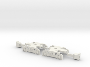U-Bahn Wien Ersatzdrehgestell Magnetkupplung in White Strong & Flexible