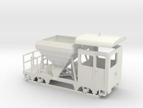 sa1 Wiener Linien Arbeitsbeiwagen Wien in White Natural Versatile Plastic