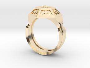 Ring of Royal Grandeur (21mm) in 14K Yellow Gold