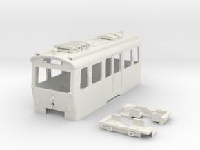 LH Wiener Linien Hilfstriebwagen in White Natural Versatile Plastic