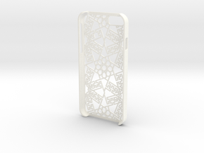 iPhone 6 - Case ORIENTAL in White Processed Versatile Plastic
