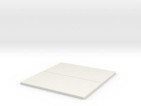 Bin Extension for S Series Combine in White Natural Versatile Plastic
