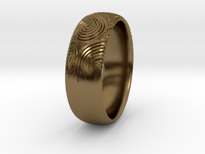 Custom RING For Her in Polished Bronze