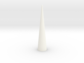 Black Brant lll Nose Cone BT55 PT2 in White Strong & Flexible Polished