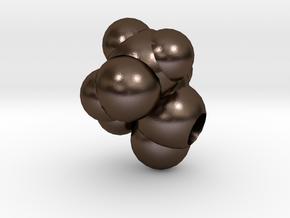 S is Serine in Polished Bronze Steel