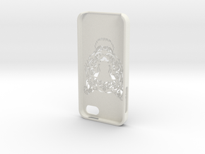 Iphone 5 Hoesje Bjorn Tijger in White Natural Versatile Plastic