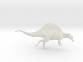Dinosaur Spinosaurus 1:40 swimming in White Natural Versatile Plastic