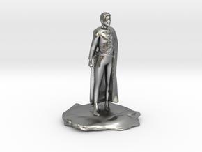 Ramas, the Human Rogue Criminal in Natural Silver