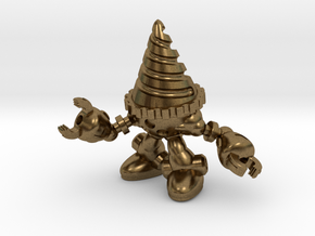 Drill-bot in Natural Bronze