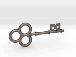 Large Skeleton Key in Stainless Steel