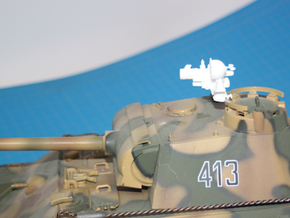 1:18 German FG 1250 Infrared Optics  for Panther T in White Natural Versatile Plastic