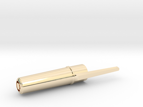 METALBiC RS premium metal pen cap in 14K Yellow Gold