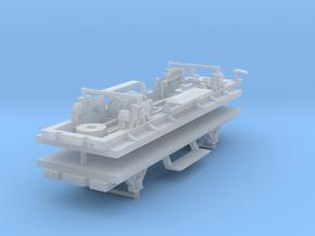 ZB (H0e) - 2ax-Fahrwerke für Liliput Gw - Kombi in Frosted Ultra Detail