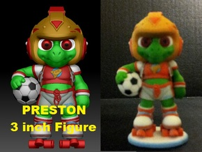Preston 3in Fig. PRESTON & THE GALAXY 3 in Full Color Sandstone