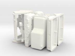 1/8 392 Hemi Basic Block Kit in White Strong & Flexible Polished