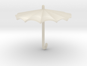 Umbrella in White Acrylic