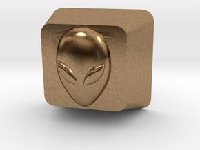 Cherry MX Alien Keycap in Natural Brass