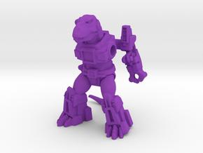 Terrifying Tyrannosaur in Purple Processed Versatile Plastic