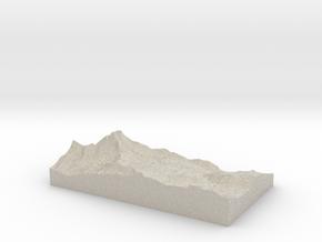 Model of Hirli in Natural Sandstone