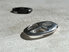 Chalice Pendant - needs update  in Polished Silver