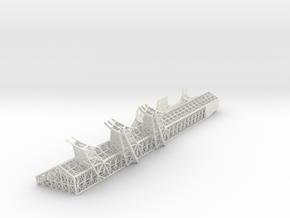 Mandible Port V0.4 in White Natural Versatile Plastic