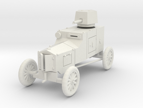 PV34 Ford TFC Armored Car (28mm) in White Strong & Flexible