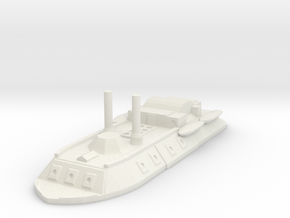 City Class gunboat 1/600 in White Strong & Flexible