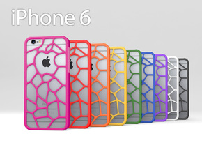 "iPhone 6 ""Organic Apple"" Case in Pink Processed Versatile Plastic"