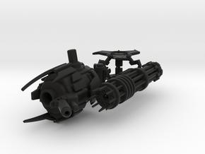 TFP Skyquake's Massive Minigun in Black Strong & Flexible