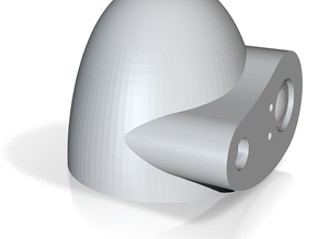 Laputa robot head 1/12.5 in White Natural Versatile Plastic