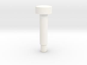 C-587-6 - Bally Pinball Rollover Button in White Processed Versatile Plastic