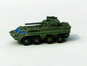 Ukranian APC BTR-4 Recon 1/285 6mm in Smooth Fine Detail Plastic