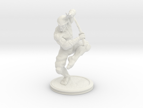 Yoshimitsu (5.8in - 14.8cm) in White Strong & Flexible