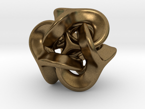Trilio - Earzi - 20mm in Natural Bronze