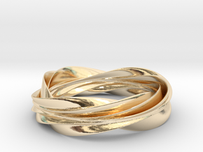 Nibelung's Ring in 14K Gold