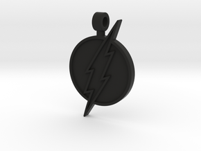 Flash Pendant in Black Natural Versatile Plastic