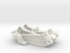 Telemba-012 Legs & Bracket in White Natural Versatile Plastic