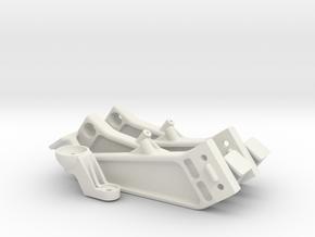 Telemba-012 Legs & Bracket in White Natural Versatile Plastic