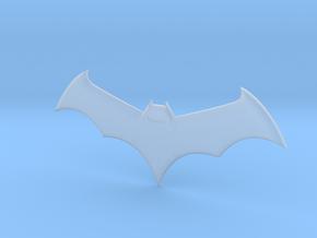 Mini Batarang in Smooth Fine Detail Plastic