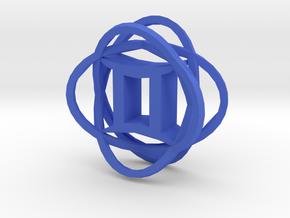 Gemini in Blue Processed Versatile Plastic