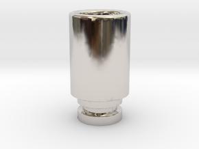 Simplistic 510 driptip in Platinum