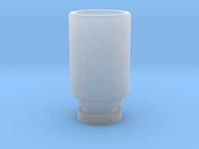 Simplistic 510 driptip in Smooth Fine Detail Plastic